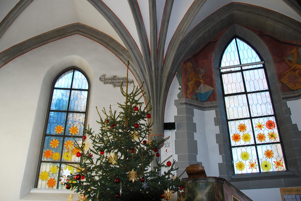 Swiss Christmas - Church in Greifensee