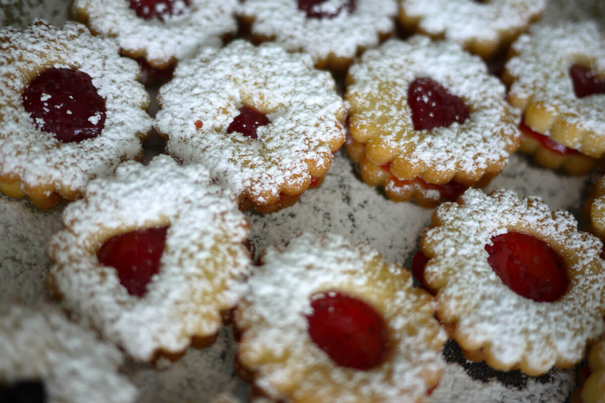 Swiss Christmas Cookie Recipe - Spitzbuebe