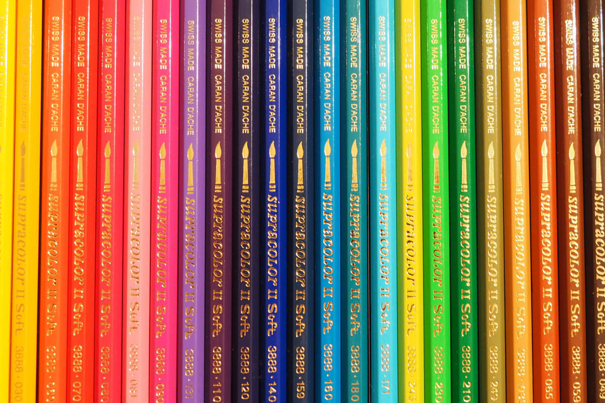 Caran d'Ache Colored Pencils