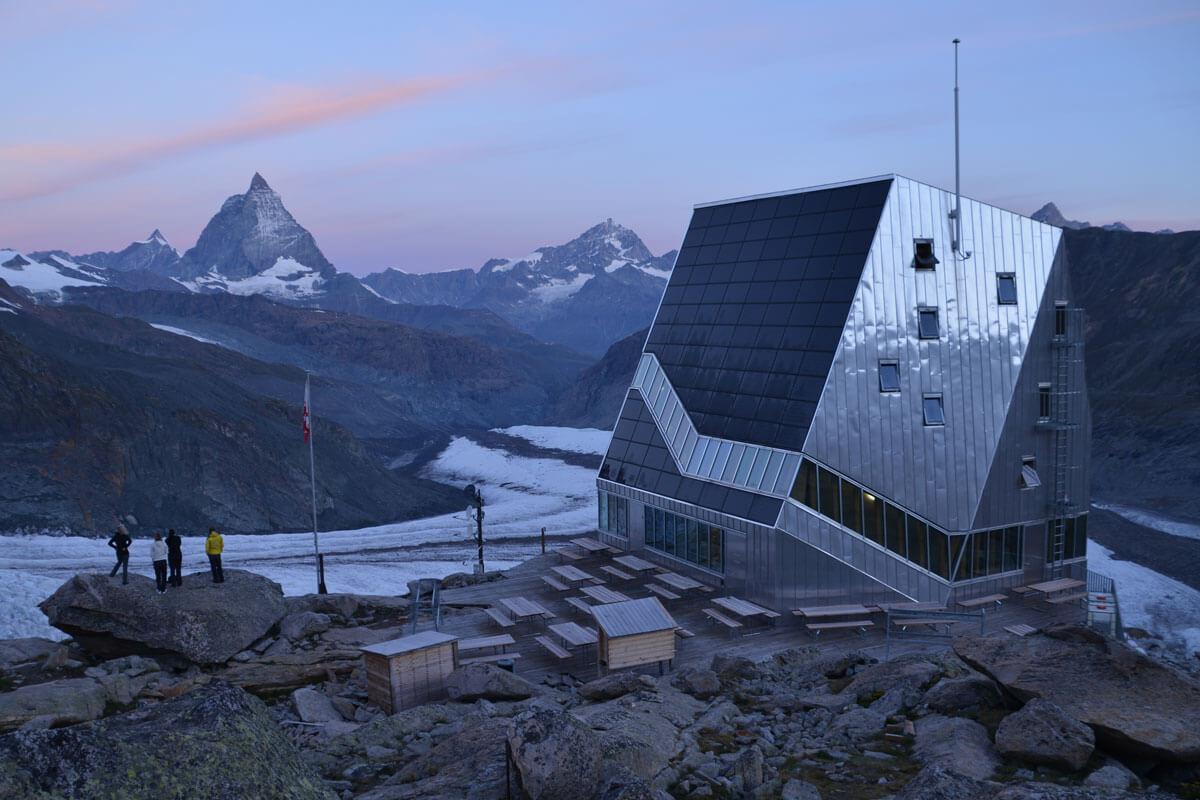 Monte Rosa SAC Hut