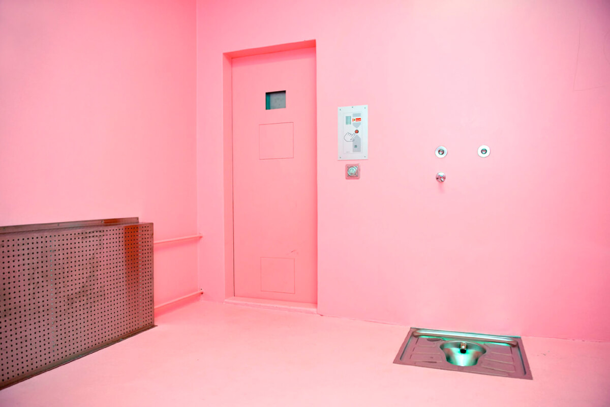 Pink Prison in Switzerland