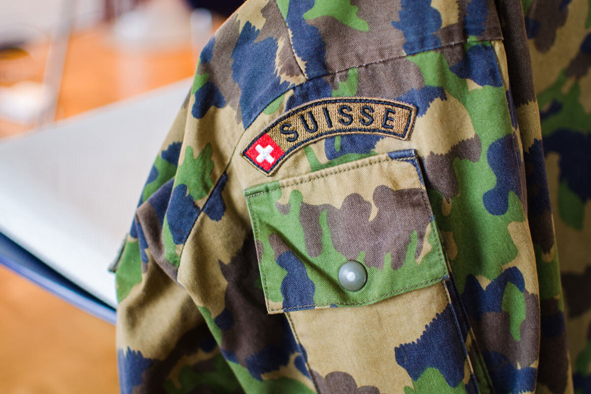 Swiss Military Jacket