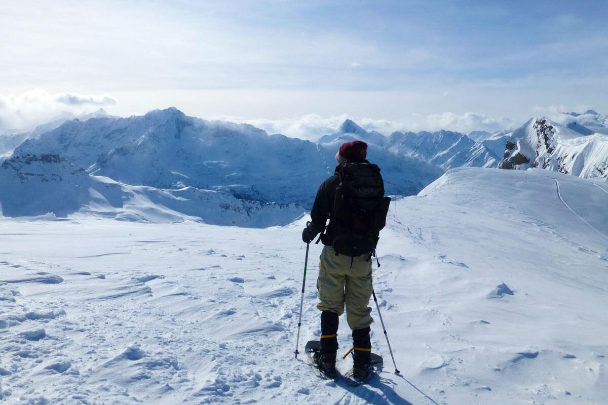 Melchsee-Frutt Snowshoeing
