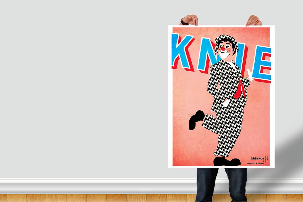 Atelier Pol - Knie Poster