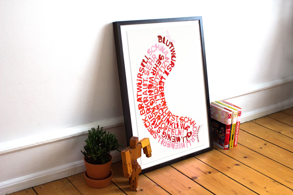 Dafi Kuehne - Wurst Poster