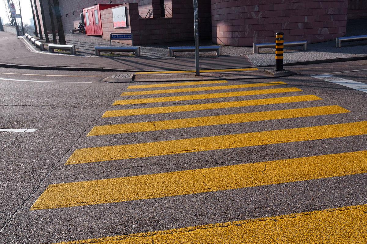 Swiss Pedestrian Crossing