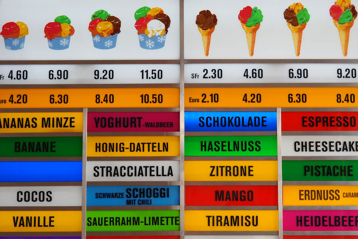 Swiss Standard German - Glace