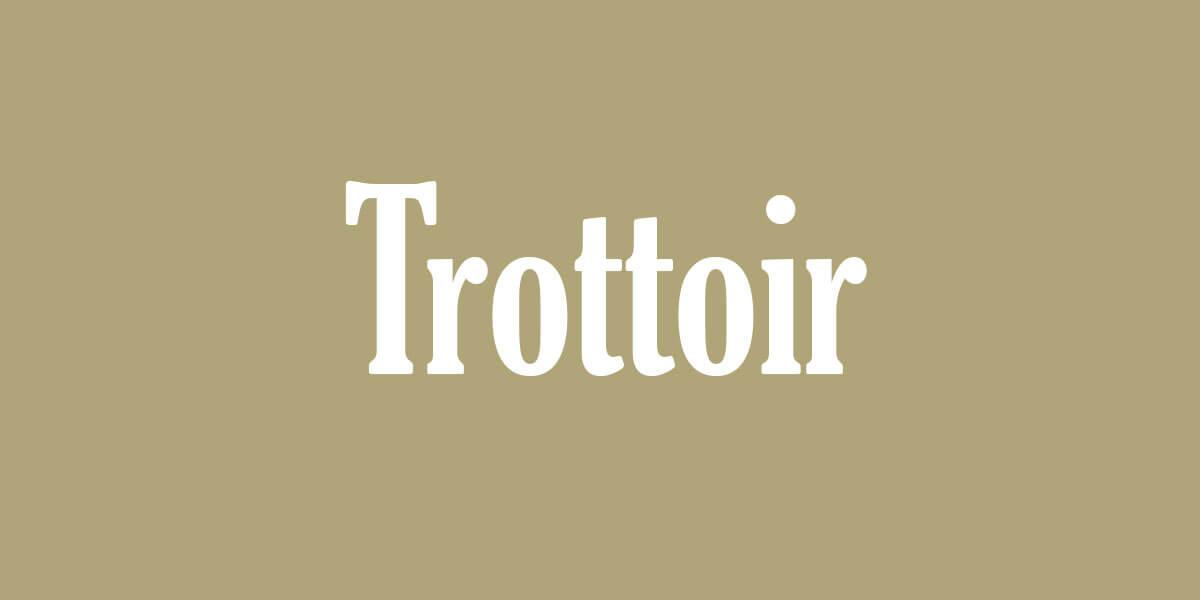 Swiss Standard German - Trottoir