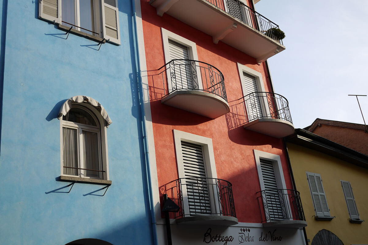 Ascona - Colorful Houses