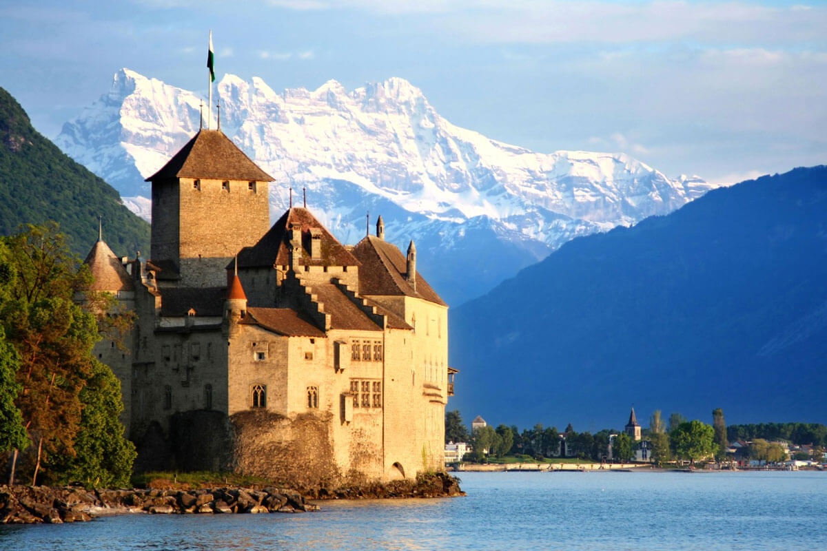 Chateau Chillon - Copyright Vladimir Mucibabic