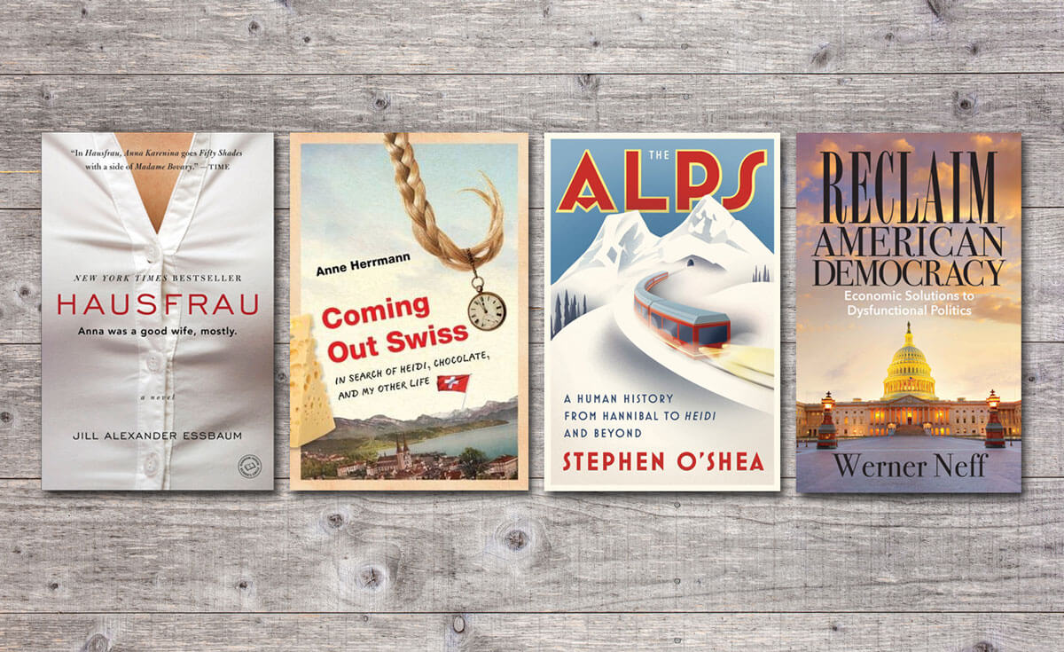 Four books about Switzerland to read