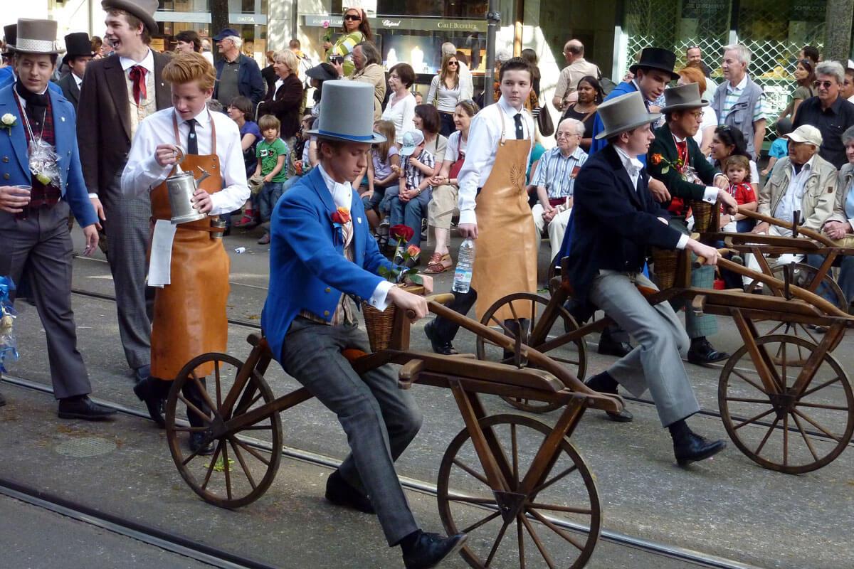 Sechseläuten Parade in Zurich
