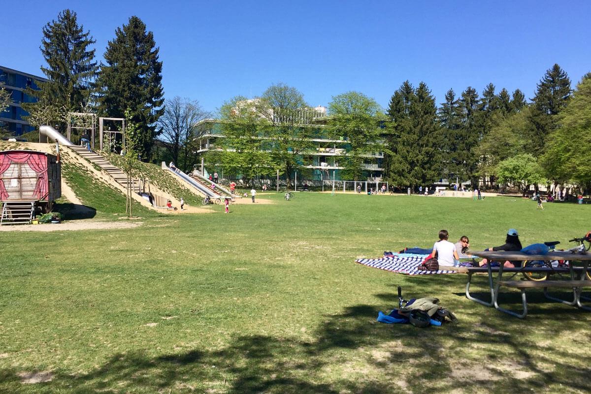 Zurich Playgrounds - GZ Bucheggplatz