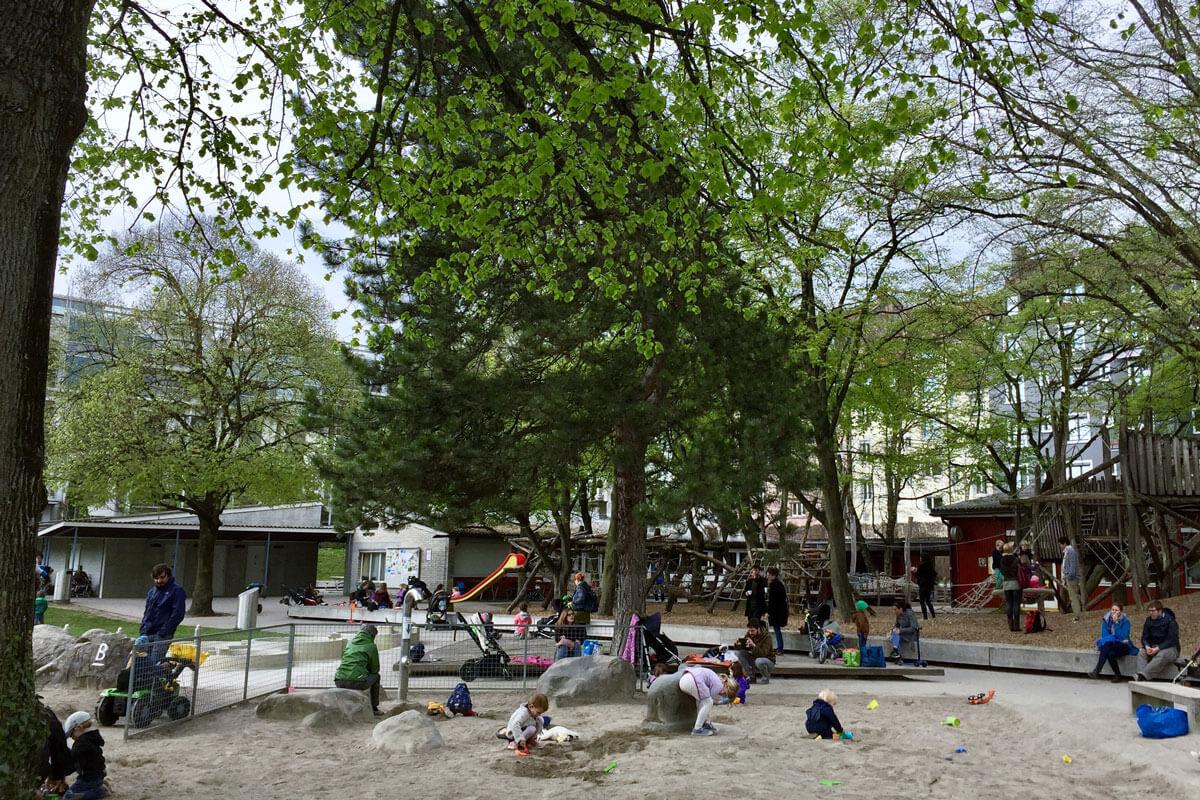 Zurich Playgrounds - GZ Wipkingen