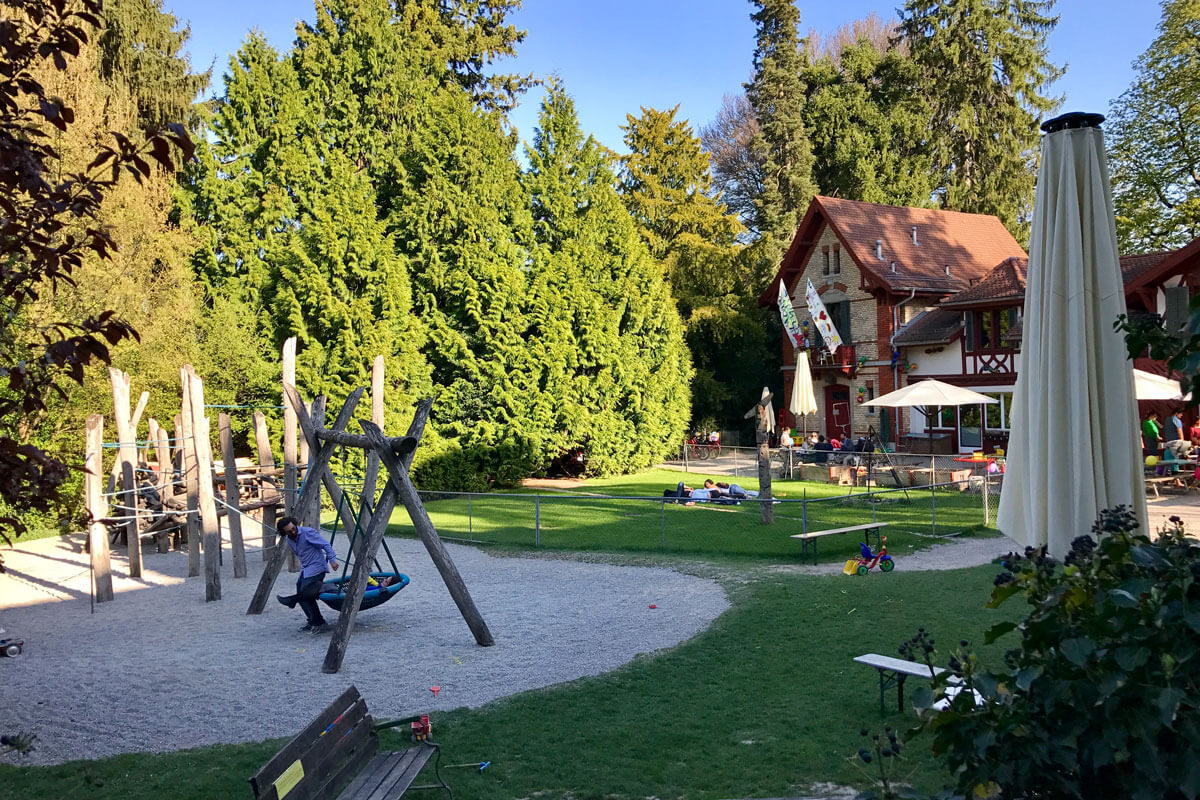 Zurich Playgrounds - Quartiertreff Enge