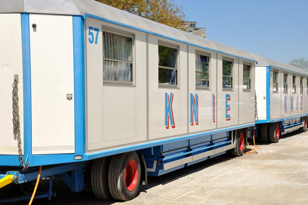 Circus Knie - Circus Wagons