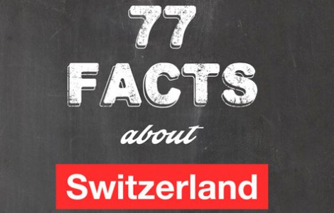 77 Facts about Switzerland e-Book