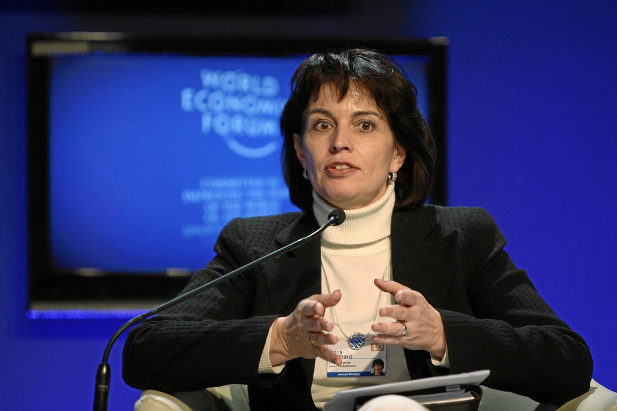 Doris Leuthard WEF