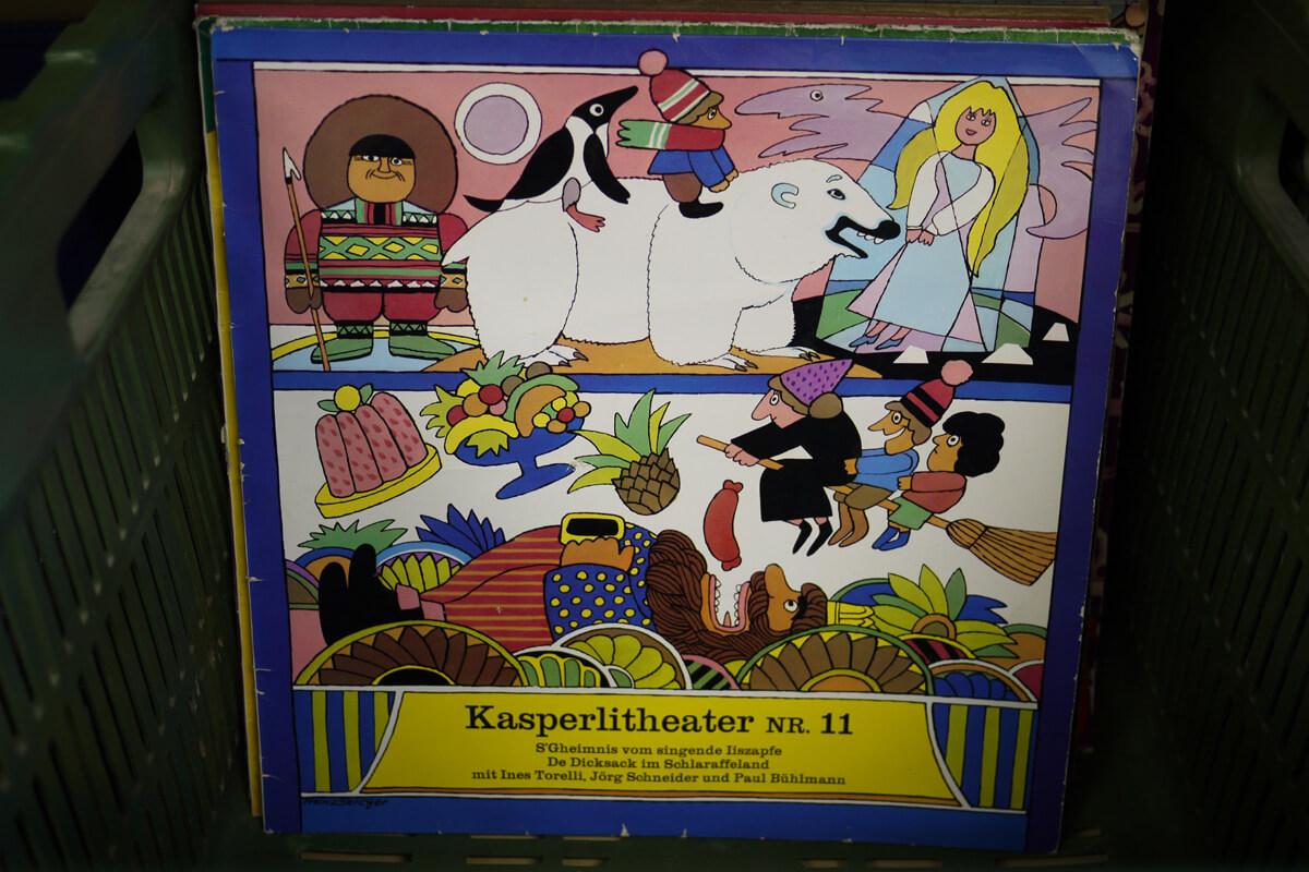Kasperlitheater Vinyl Record 11