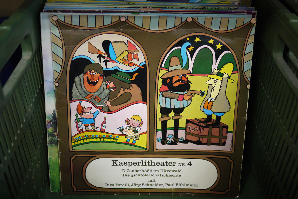 Kasperlitheater Vinyl Record 4