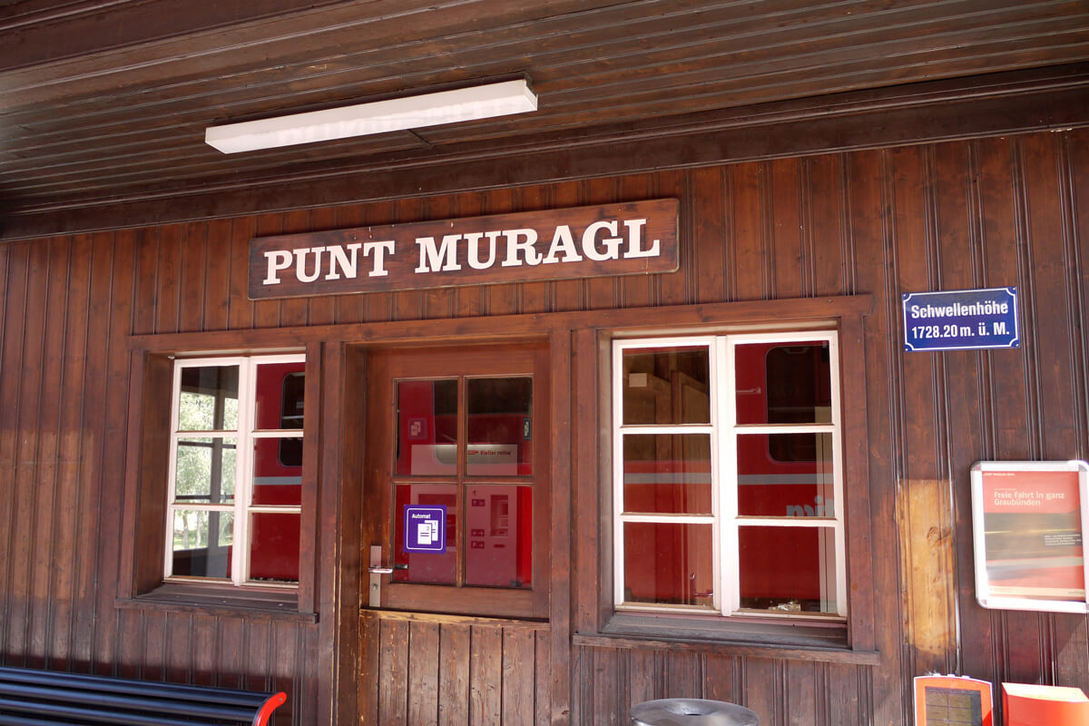 Punt Muragl Train Station