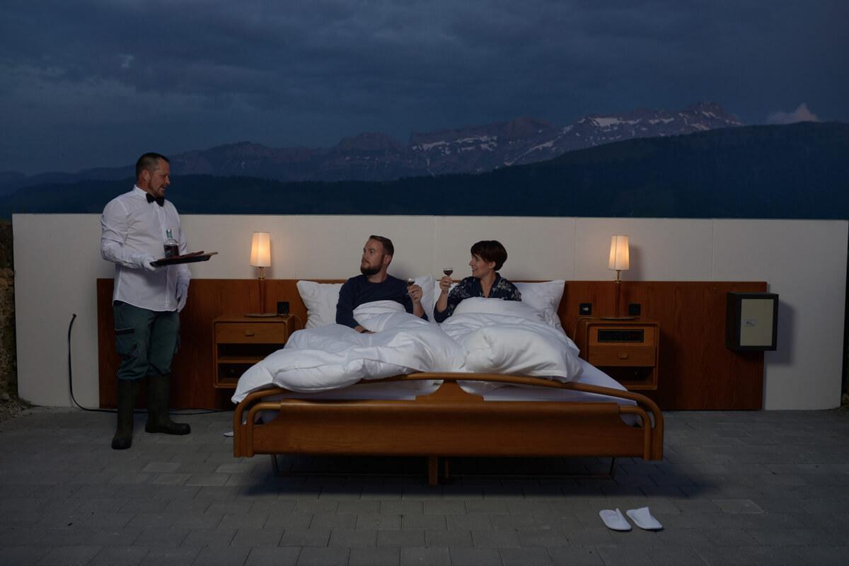 Zero Star Hotel in Teufen, Switzerland