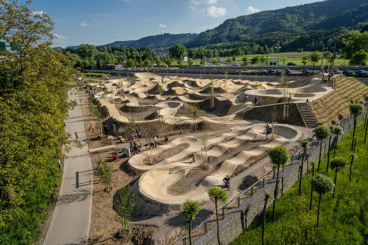 Bikepark Allmend Zurich