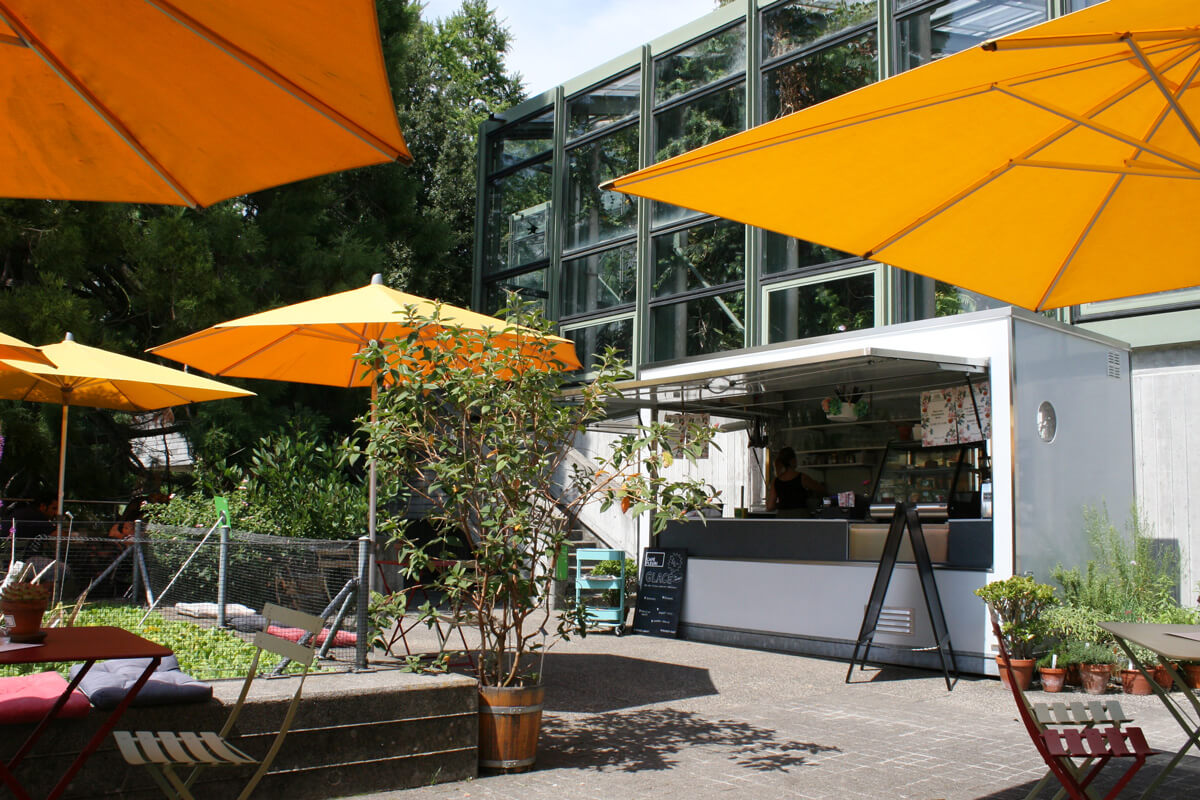 Café Fleuri at the Botanical Gardens of Bern