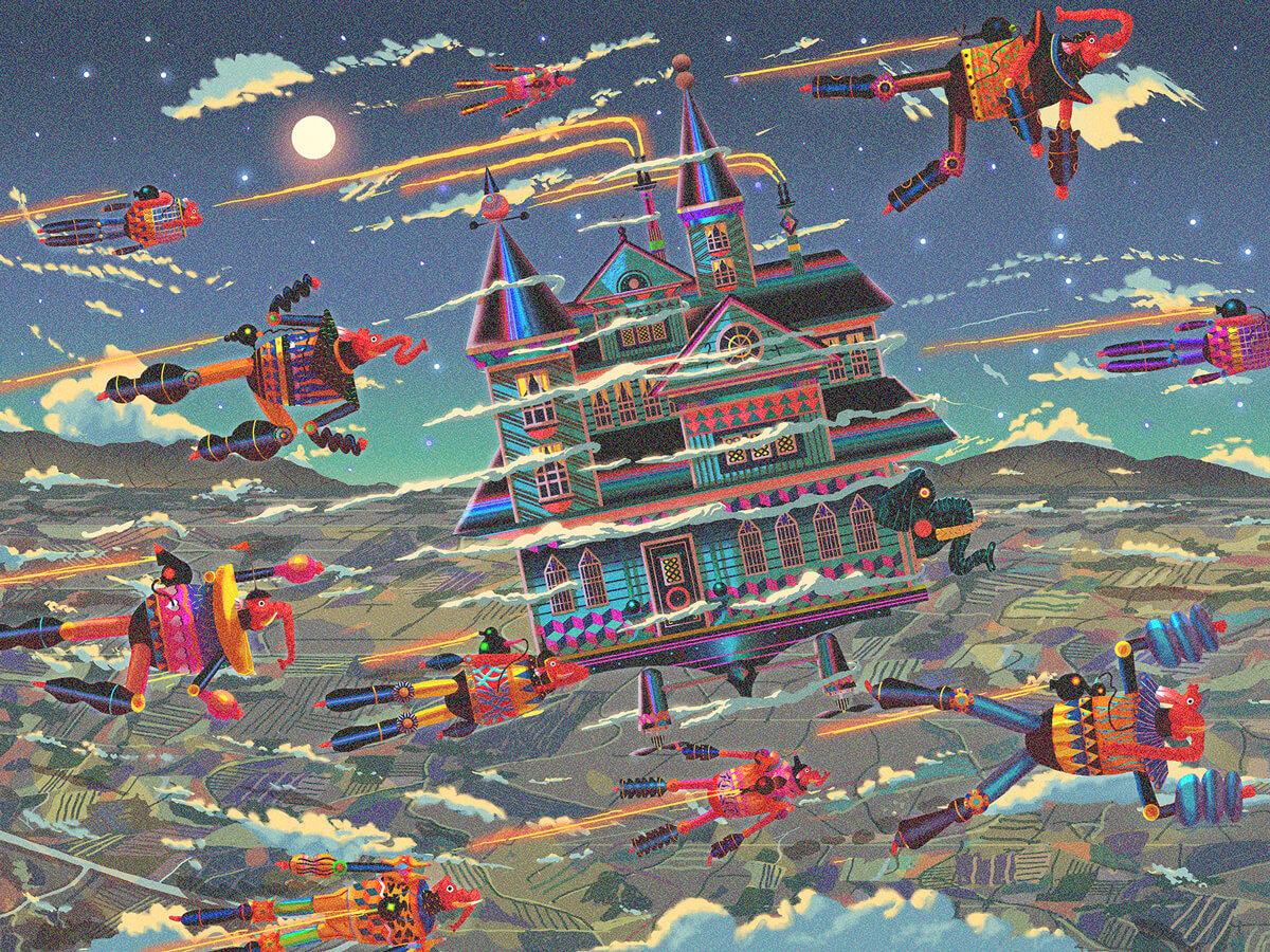 Dexter Maurer Illustration