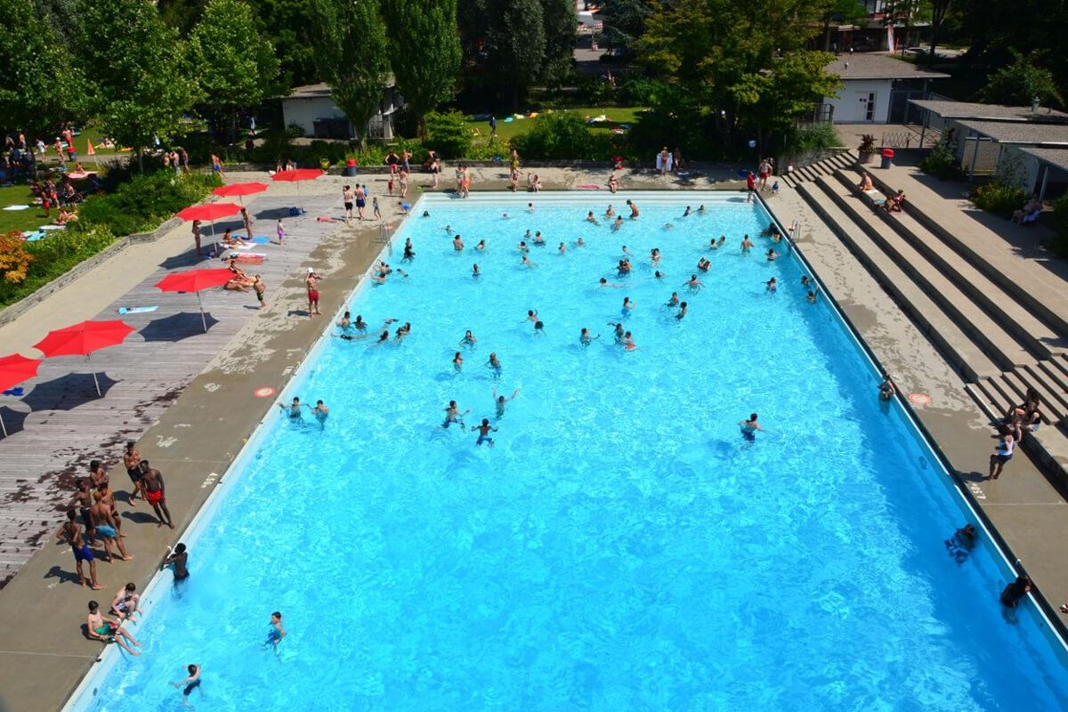 Freibad Letzigraben Zurich
