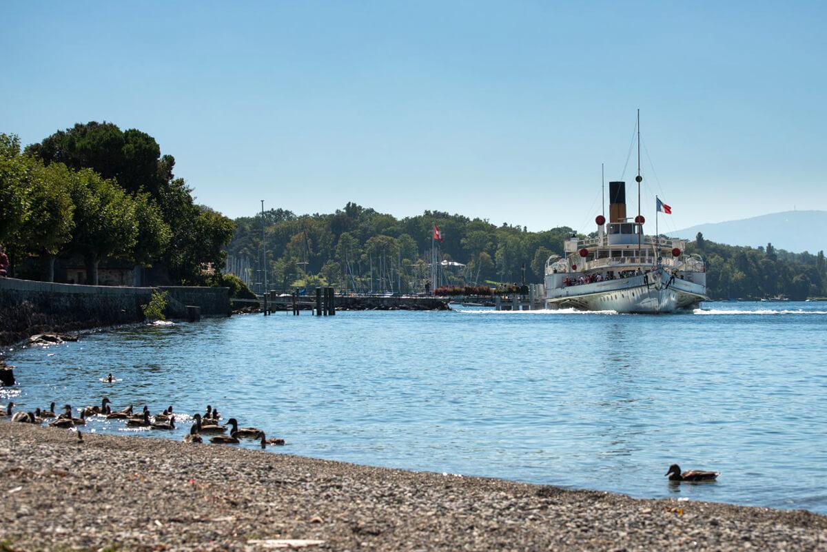Geneva Hermance Beach