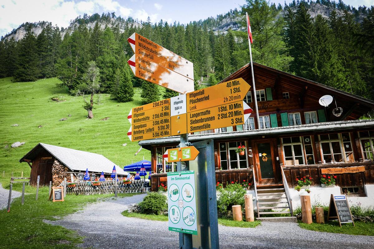 Route du Bonheur Hike - Switzerland