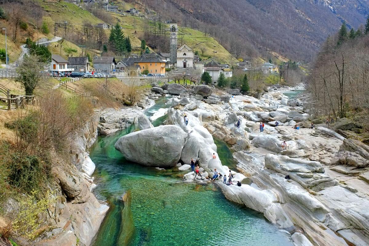 Ticino Verzasca Valley