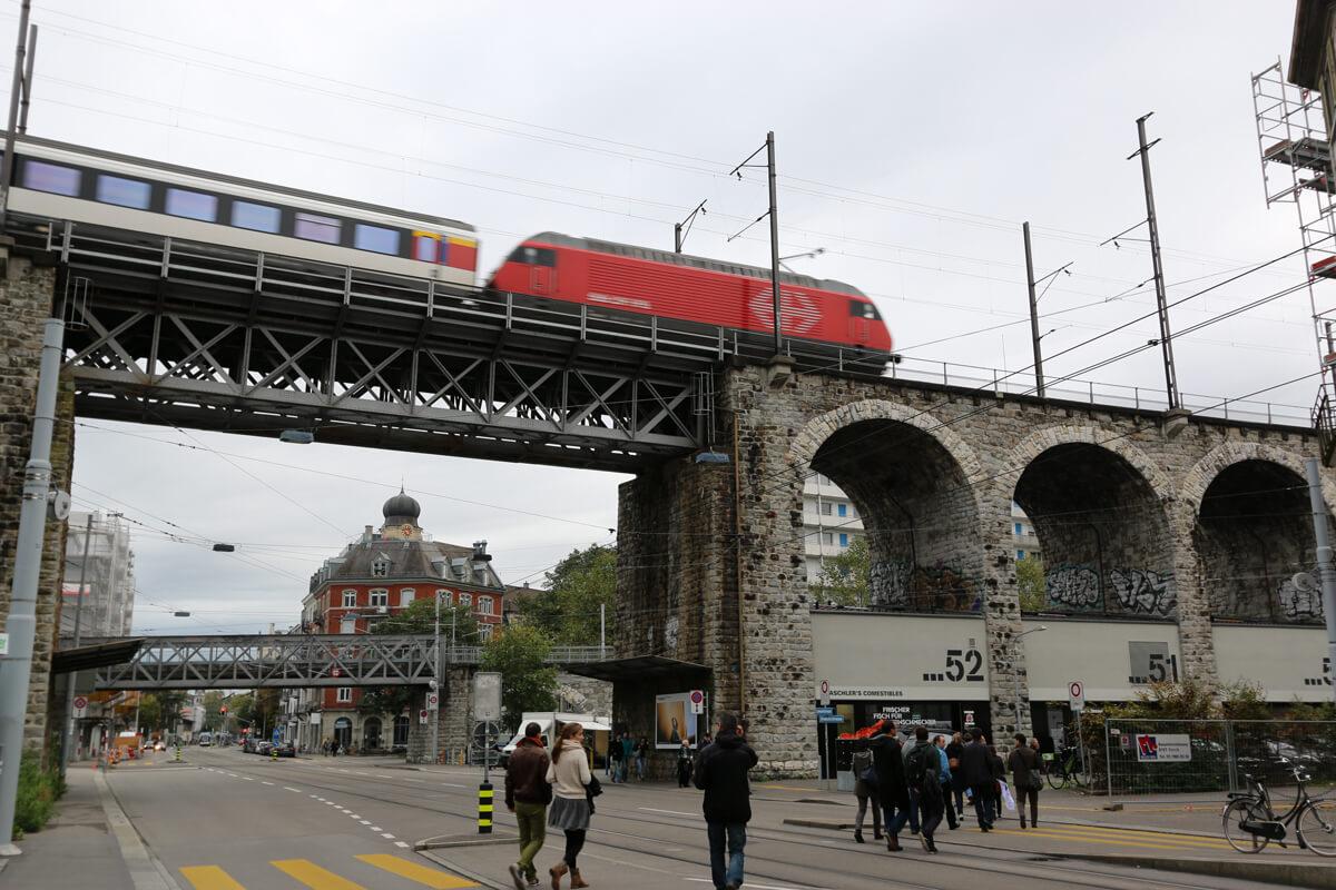 Zürich Dammweg Viadukt