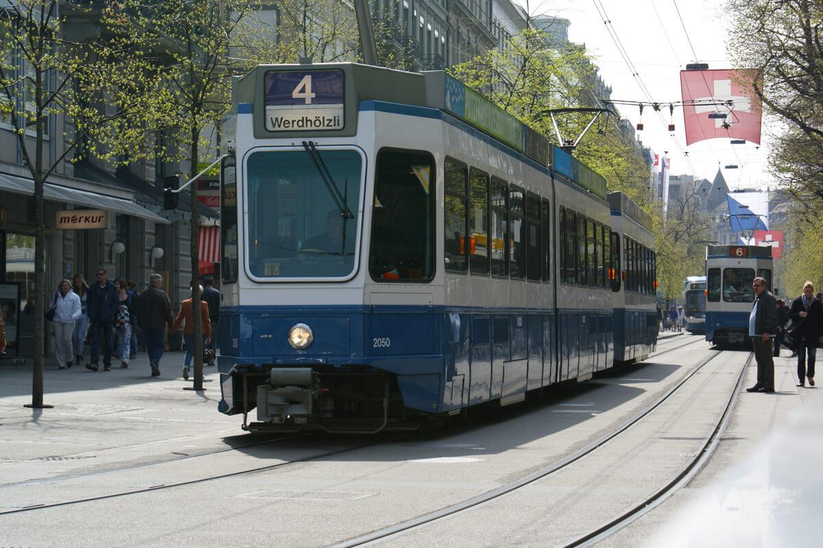 Zurich Tram 4