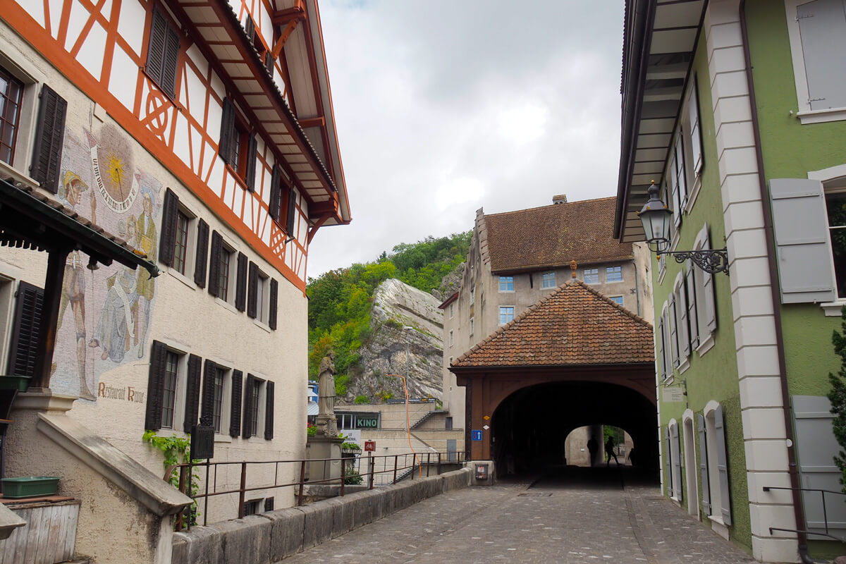 The Old Town of Baden, Switzerland