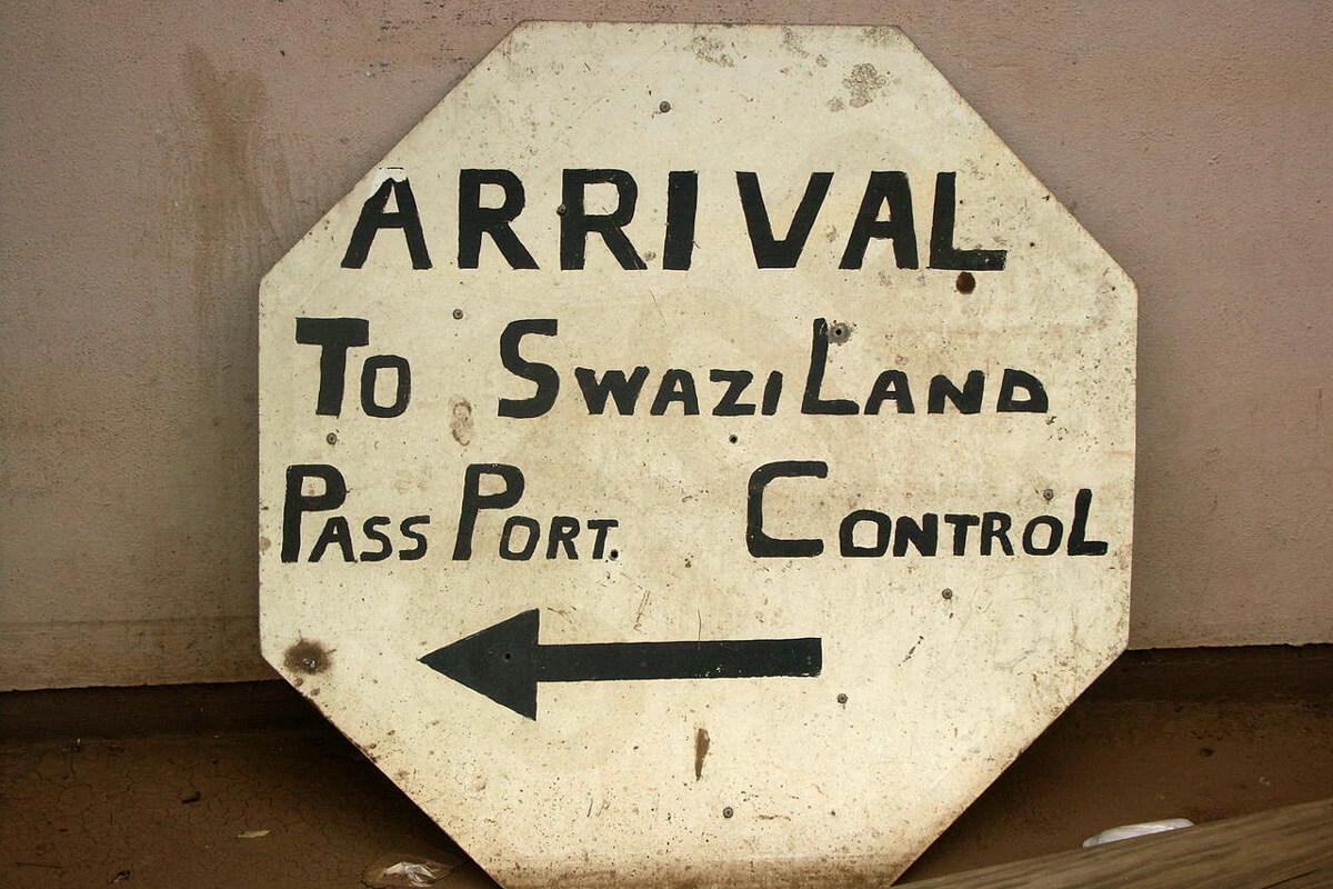 Swaziland Passport Control