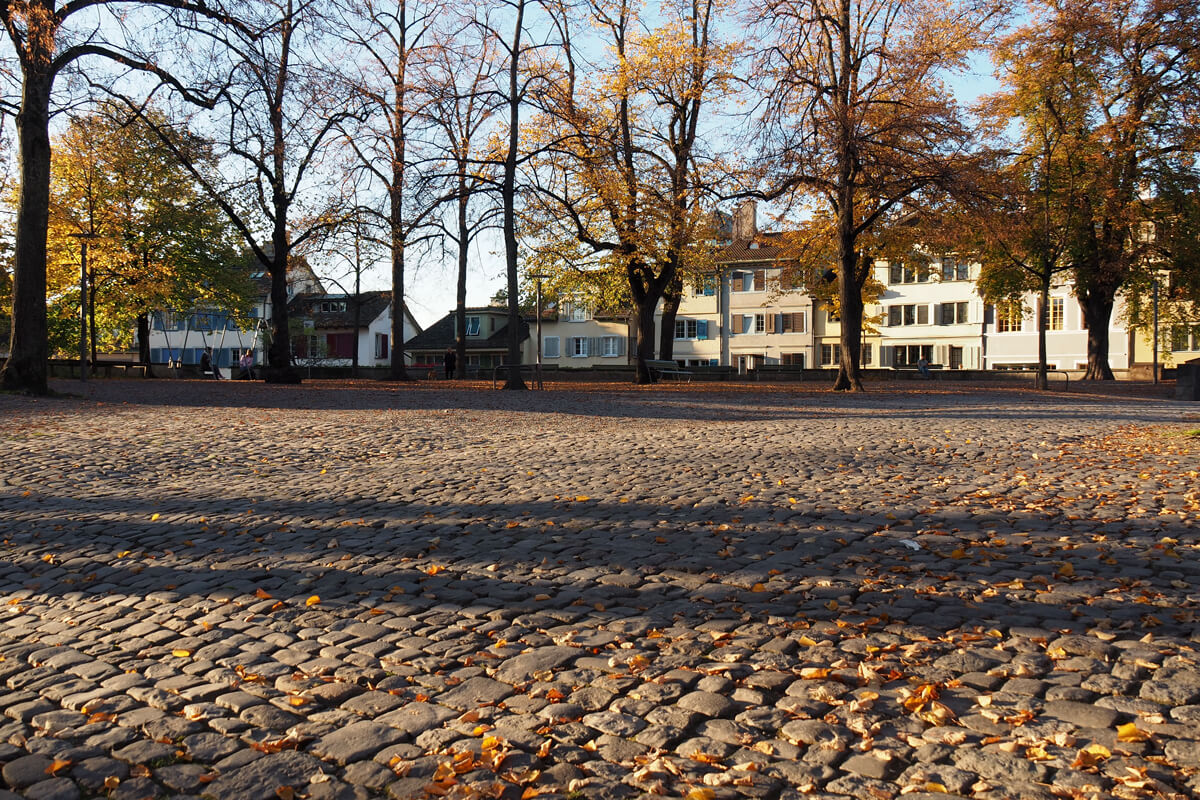 Lindenhof Square in Zürich