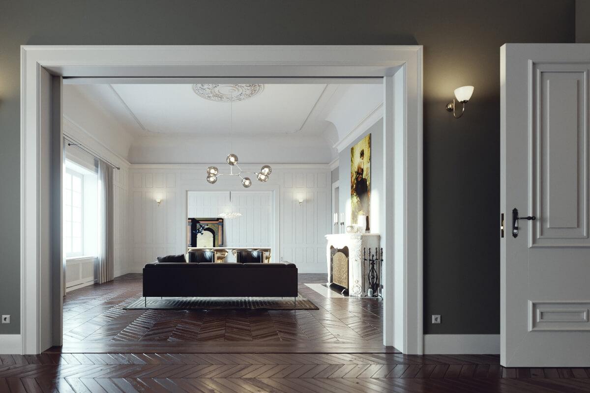 Paris Apartment by Slashcube