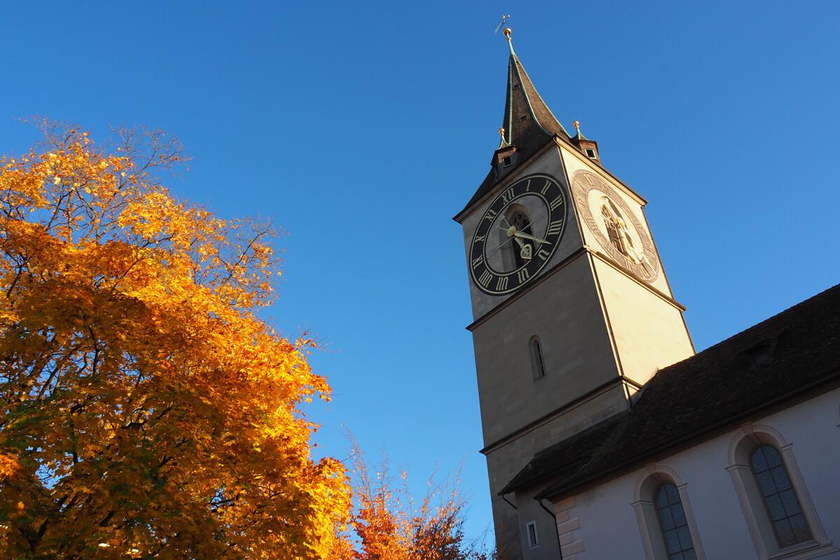 St. Peters Church Zurich