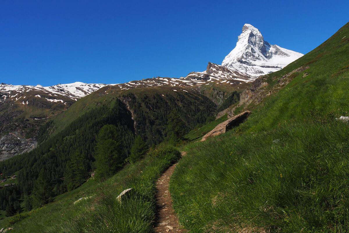 Zermatt Matterhorn - Hiking Path
