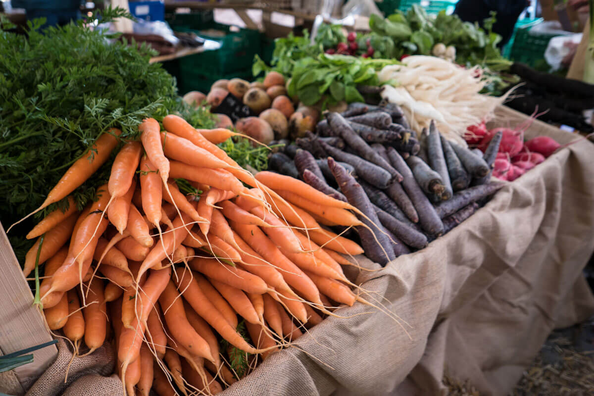 The traditional Aarau Carrot Market