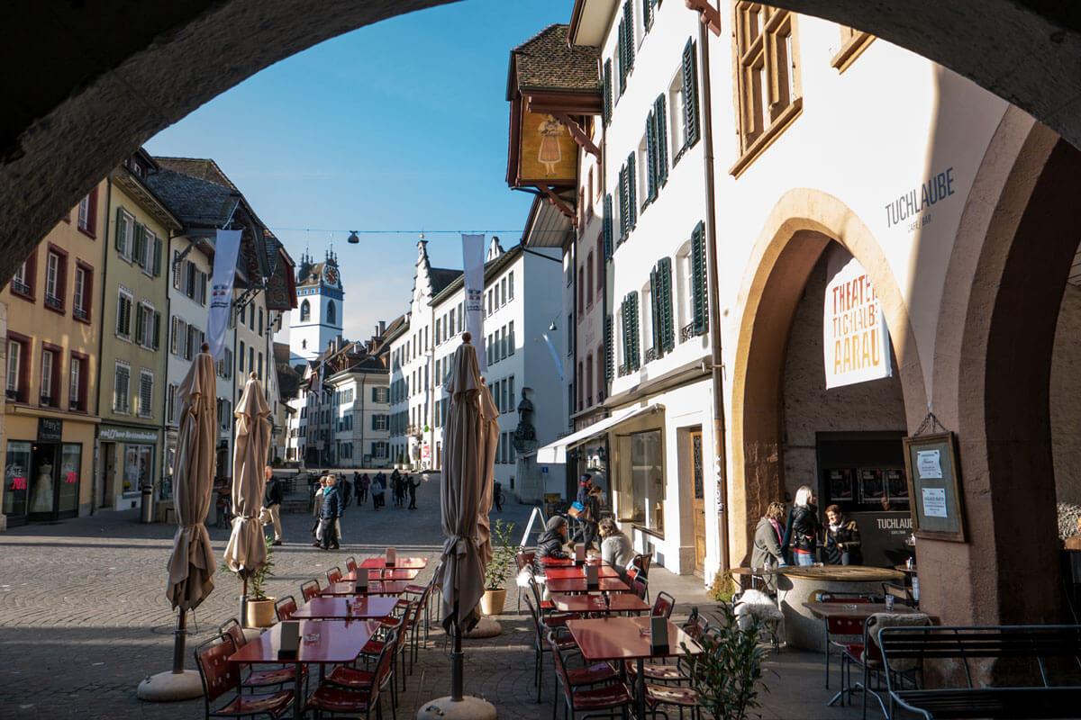 Aarau Old Town