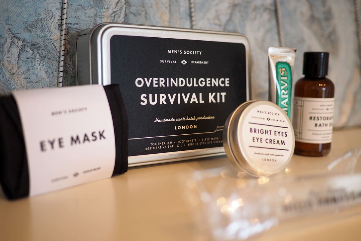Men's Overindulgence Survival Kit