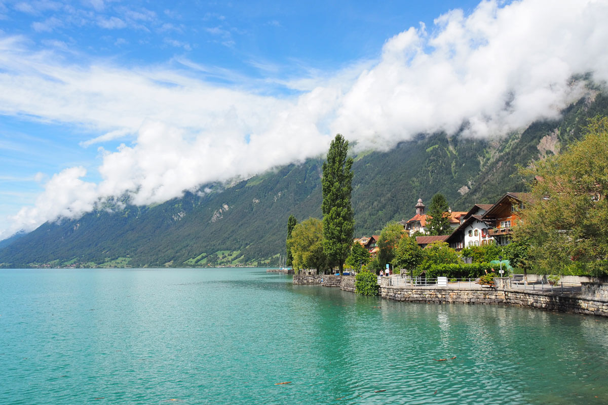Brienz by the lake
