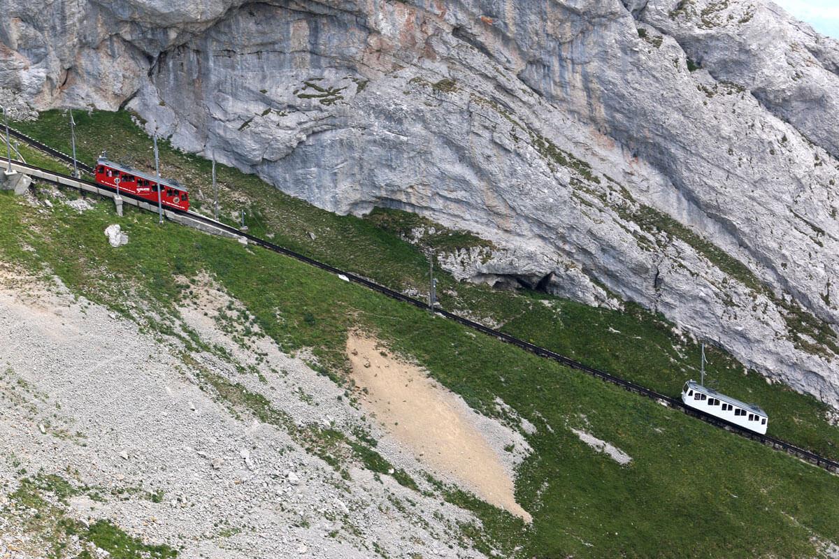 Mt. Pilatus Cogwheel Railway