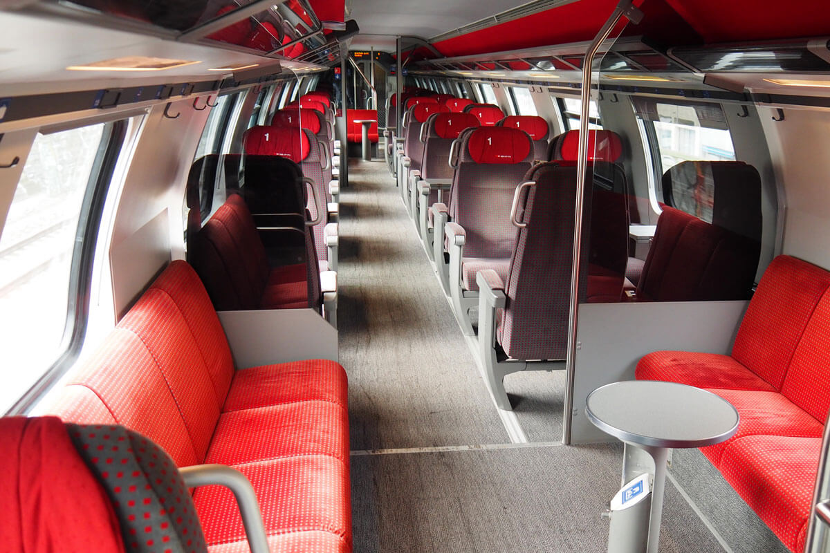 Swiss Intercity Train