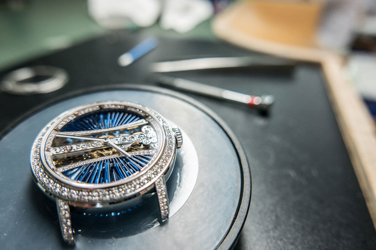 CORUM Watch Making