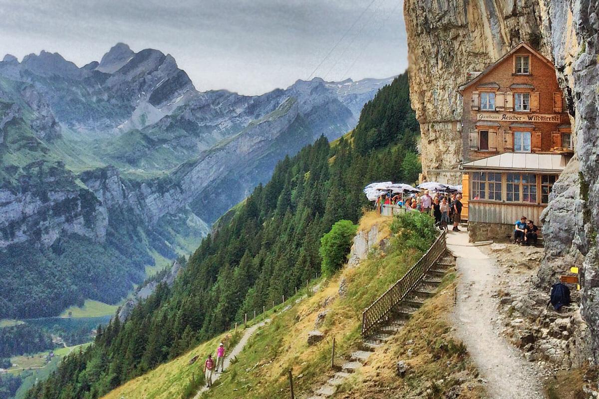 Aescher Wildkirchli at Alpstein