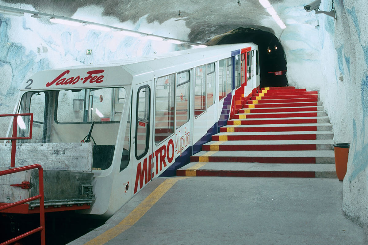 Metro Alpin in Saas-Fee